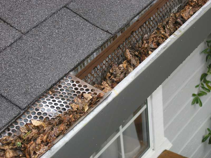 Gutter Maintenance And Cleaning | Trio Roof Contractors Service